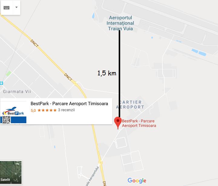 Locatia Parcarii Aeroport Bestpark