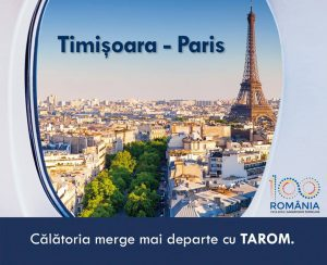 Zbor Timisoara - Paris